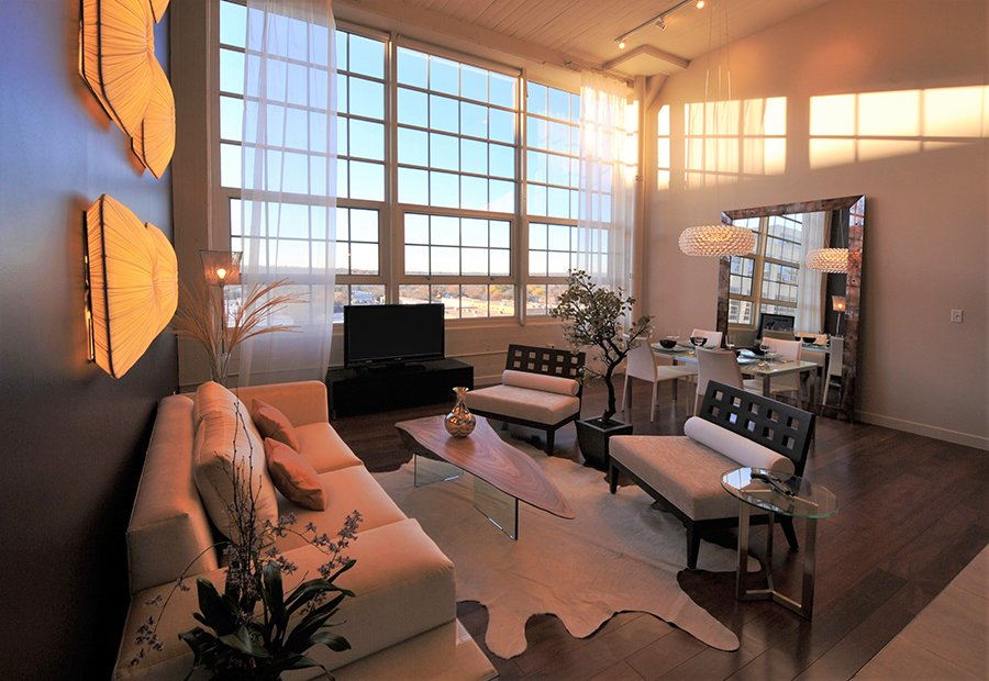 condo living room